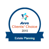 Johnson Estate Planning - Clients' Choice 2015 AVVO badge